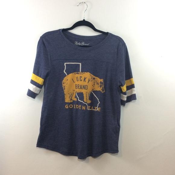Lucky Brand Tops - Lucky Brand   golden state   bear
